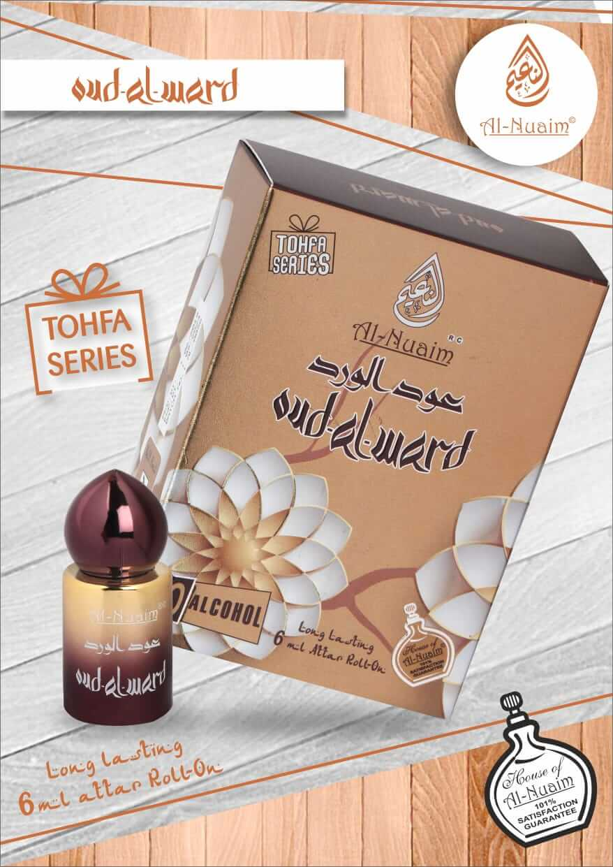 Al Nuaim Oud Al Ward Attar 6ML Tohfa Series