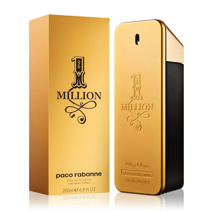 Paco Rabanne 1 Million Eau De Toilette Perfume For Men 200ml