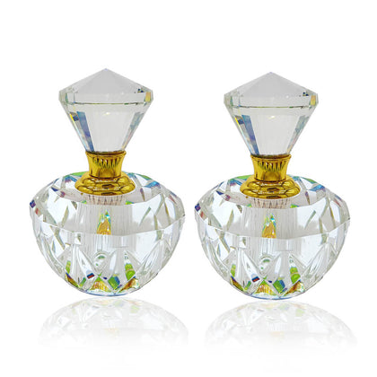 Exclusive Crystal Empty Attar Bottle 10ml Pack of 2