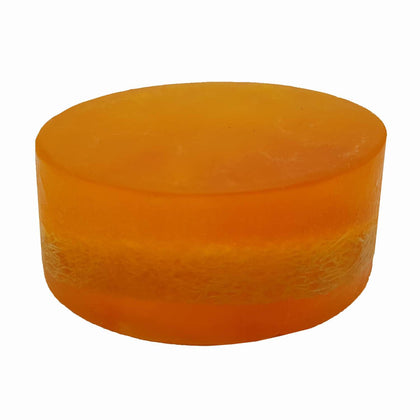 Organic Peach Loofah Soap
