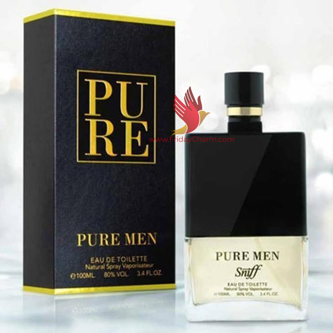 Sniff Pure Men Spray Perfume - 100ml