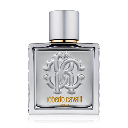 Roberto Cavalli Uomo Silver Essence Eau De Toilette For Men - 100ml