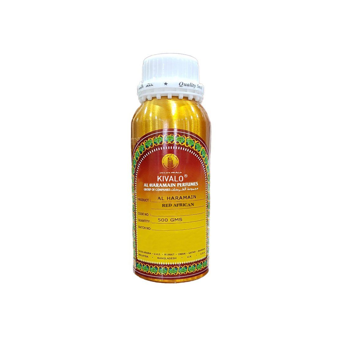 Al Haramain Red African Attar - 500 ml