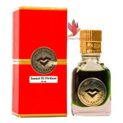 Swiss Arabian Jannat ul Firdaus Attar Perfume- 9ml
