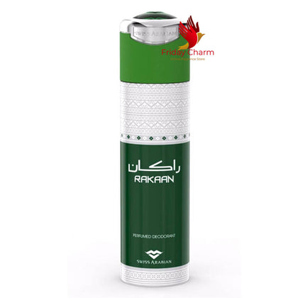 Swiss Arabian Rakaan Deodorant Spray - 200ml