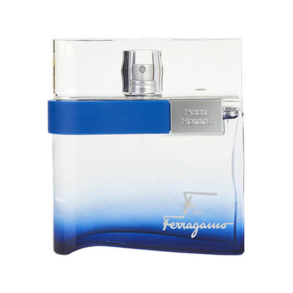 Salvatore Ferragamo F by Ferragamo Free Time Eau De Toilette For Men 100ml