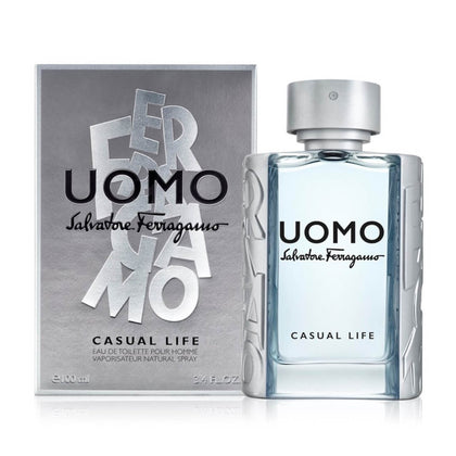 Salvatore Ferragamo Uomo Casual Life Eau De Toilette For Men 100ml