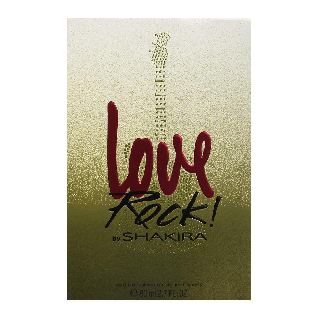 Shakira Love Rock Eau De Toilette For Women - 80ml