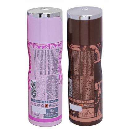 Tayyib Ehsaas Raheef & Oud Al Nafees Non Alcoholic Deodorant Combo Pack of 2 x 200 ml