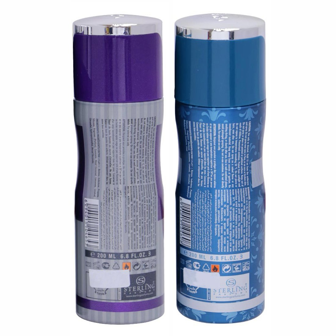 Tayyib Sehr Al Ayoon & Mozhela Non Alcoholic Deodorant Combo Pack of 2 x 200 ml