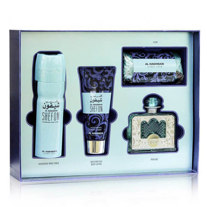 Al Haramain Perfume Gift Set For Women - Shefon Fragrance Pack of 4