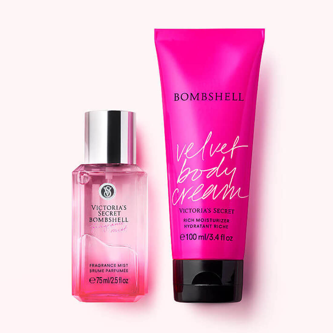 Victoria's Secret Bombshell Fragrance Gift Set Mist & Lotion