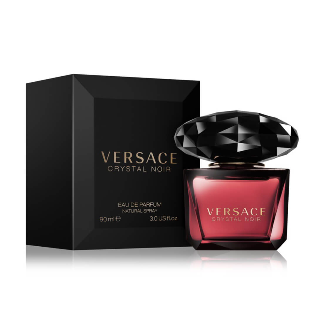 Versace Crystal Noir Eau De Perfume For Women 90ml
