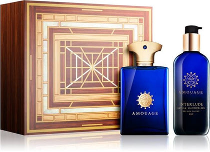 Interlude Man By Amouage EDP Perfume Giftset (100ML EDP + 300ML SHOWERGEL)