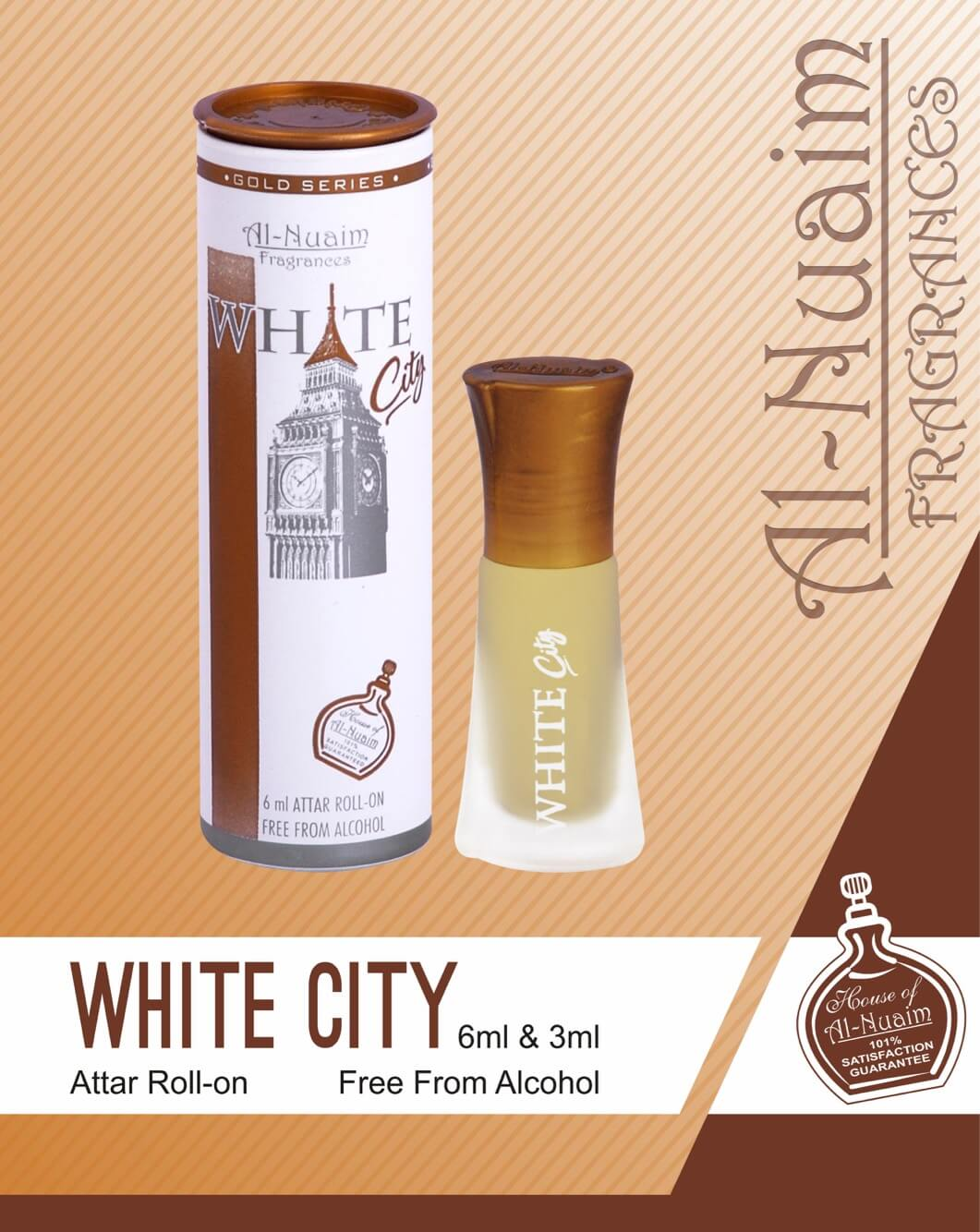 Al Nuaim White City Attar 6ML