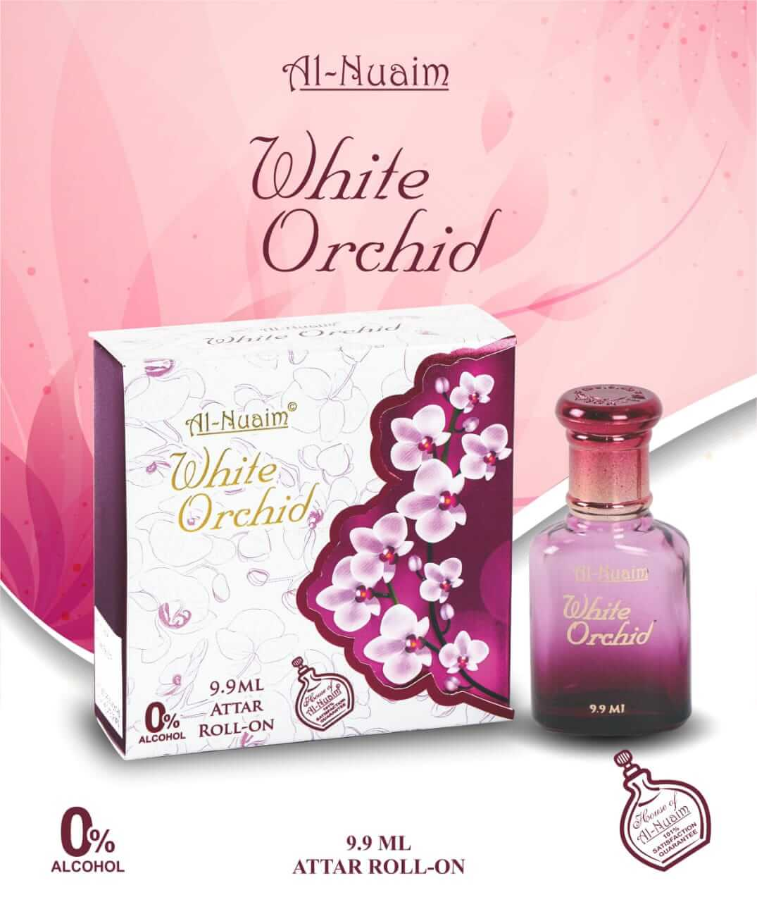Al Nuaim White Orchid Attar 9.9ML