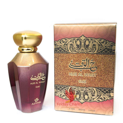 Ajyad Hub Al Waqt Gold Perfume Spray - 100ml