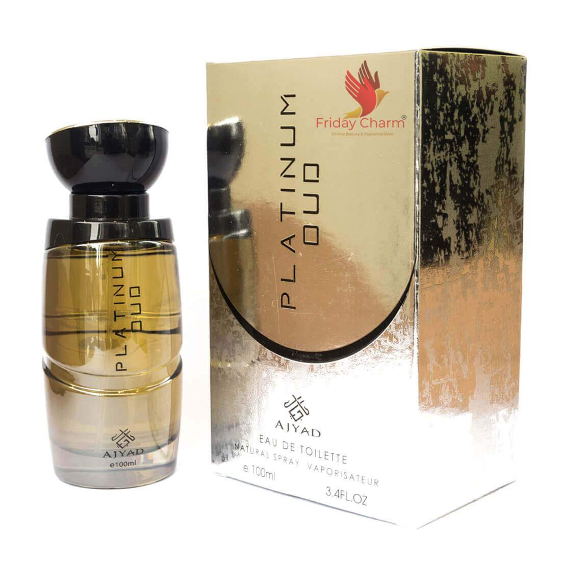 Ajyad Platinum Oud Spray - 100ml