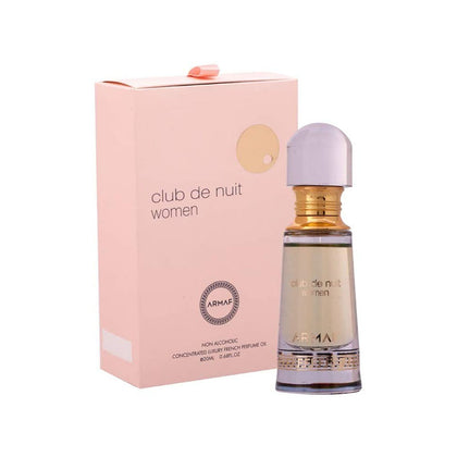 Armaf Club De Nuit Women Concentrated French Perfume Oil Alcohol Free (Attar)-20ml