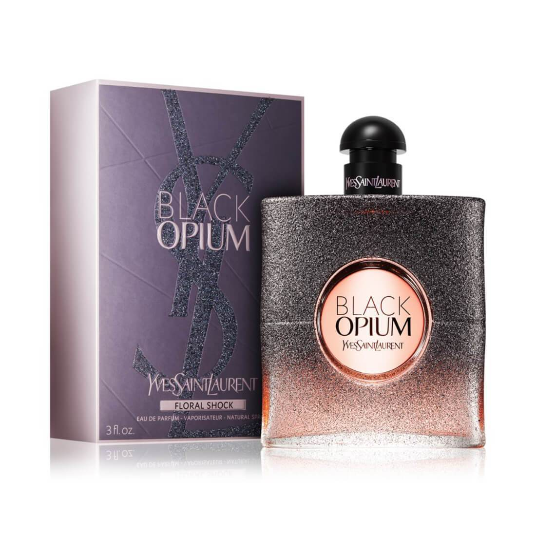 Yves Saint Laurent Black Opium Floral Shock EDP Perfume For Women - 90ml