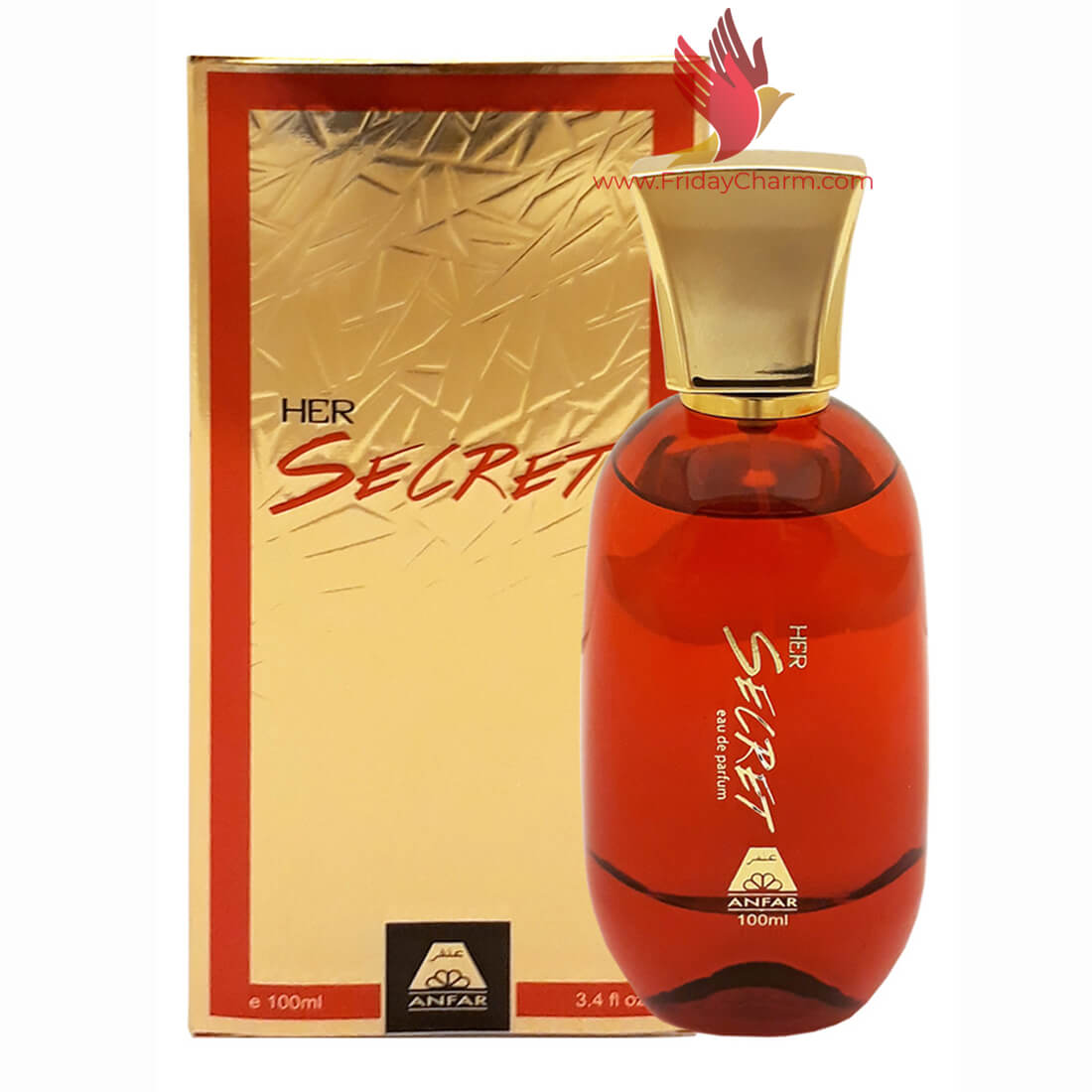 Anfar Her Secret Perfume Spray - 100ml
