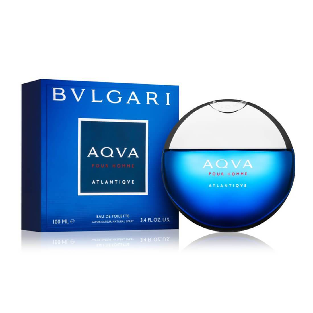 Bvlgari Aqva Pour Homme Atlantique EDT Perfume For Men - 100ml