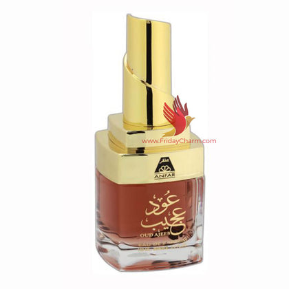Anfar Oud Ajeeb Perfume Spray - 100 ml