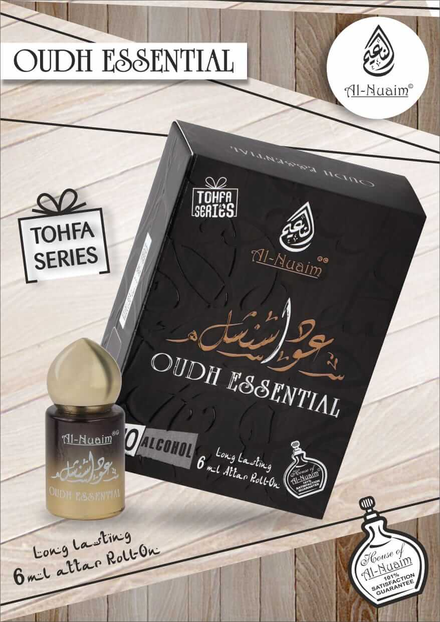 Al Nuaim Oudh Essential Attar 6ML Tohfa Series