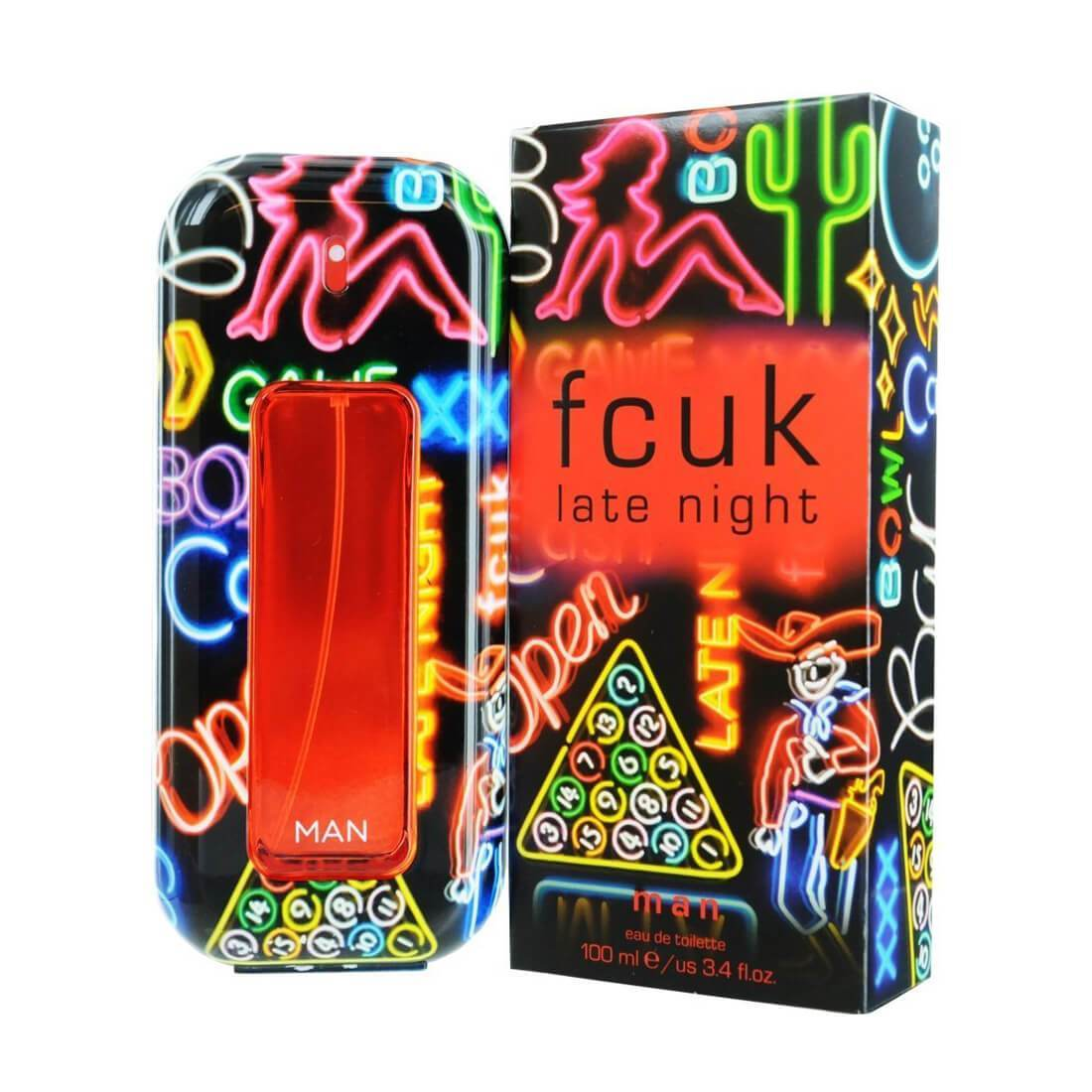 Fcuk Late Night EDT Perfume For Men - 100ml