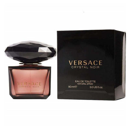 Versace Womens Crystal Noir Eau De Toilette 90 ml