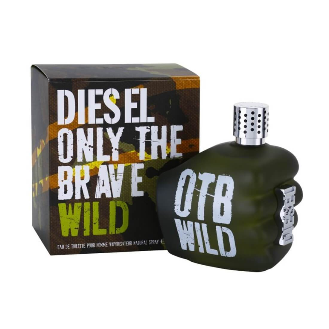 Diesel Only The Brave Wild EDT Perfume - 75ml