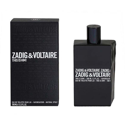 Zadig and Voltaire this is him Eau De Toilette 100ml