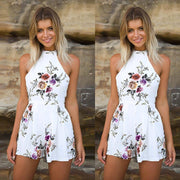 MORE THAN EXPECTED Floral ROMPER - OutFancy