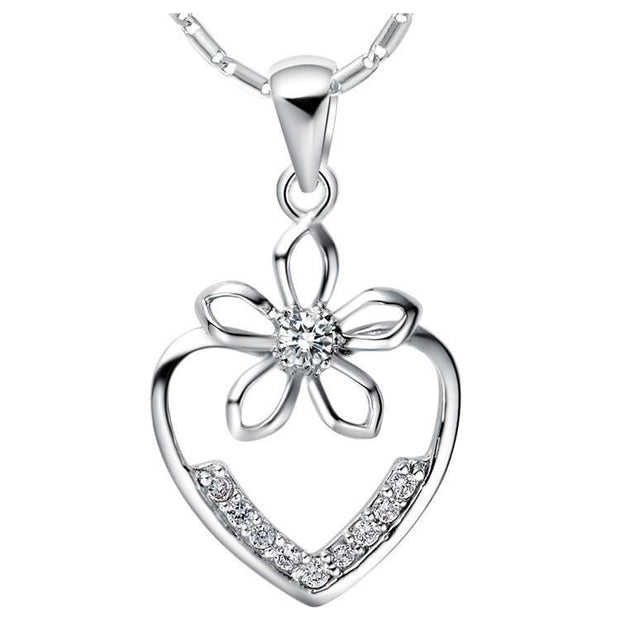Lady Brincos Silver Valentine's Day Gift - OutFancy