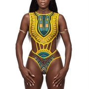 FEEL THE HEAT African SWIMSUIT - OutFancy