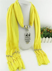 New Fashion Ethnic Chiffon Silk Scarf Necklaces - OutFancy