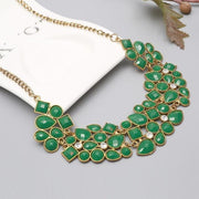 THE CLASSY TYPE Gem Statement Necklaces & Pendants - OutFancy