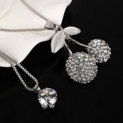 Women Vintage Crystal Maxi Colar Necklaces - OutFancy