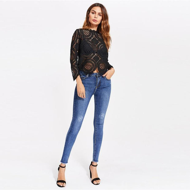WALK THE LINE Jeans - OutFancy