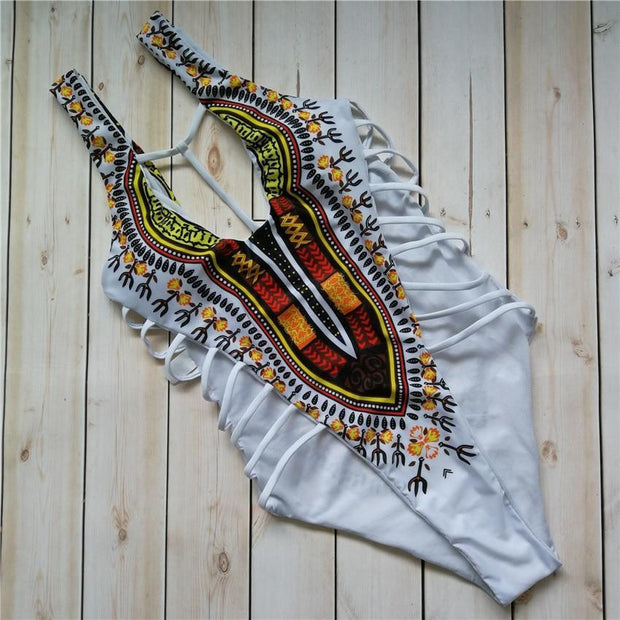 HOT STUFF African Swimsuit - OutFancy