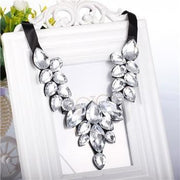 Fancy Acrylic Resin Flower Style Necklaces & Pendants - OutFancy