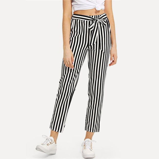STRIPE ME OUT Pants - OutFancy
