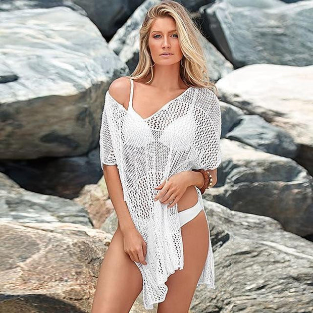BEACH PLEASURE SWIM COVER UP - OutFancy