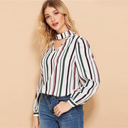 Elegant Workwear  Blouses - OutFancy
