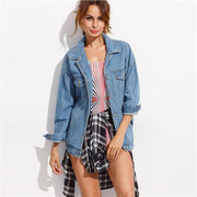 Outerwear Denim Jacket - OutFancy