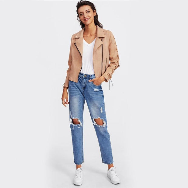 HAPPY EVER AFTER Denim Jeans - OutFancy