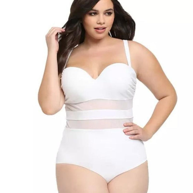MESHING WITH YOU Swimsuit - OutFancy