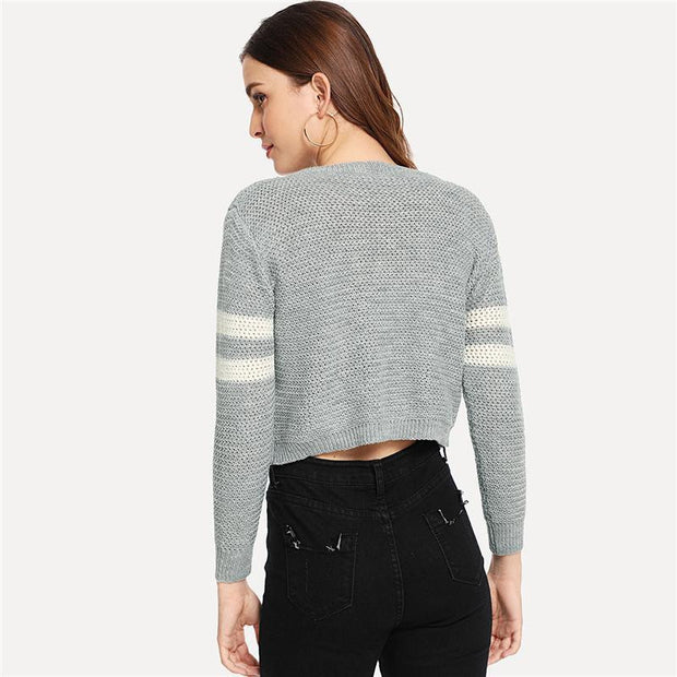 Grey Autumn Sweater 2018 - OutFancy
