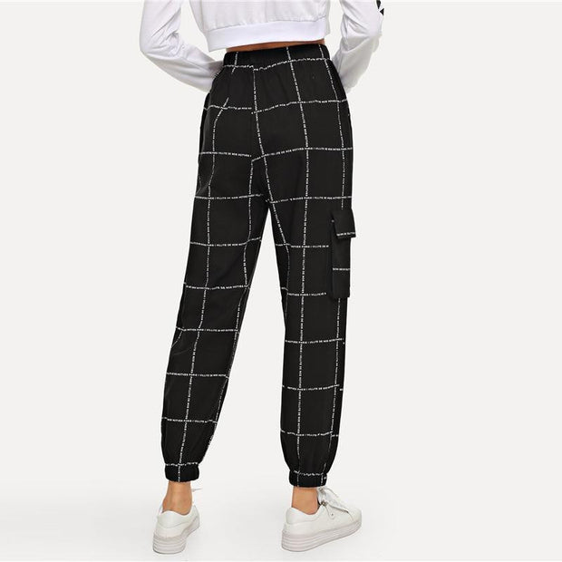 MEET ME THERE Plaid Pants - OutFancy