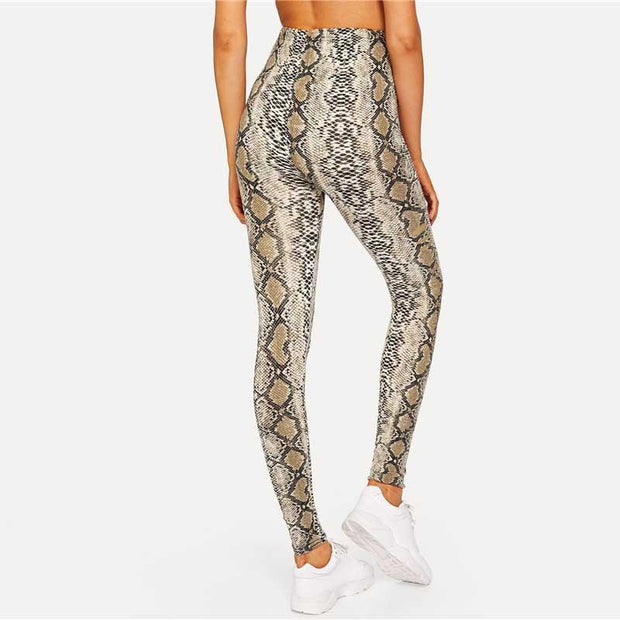SNEAKY SNAKE Leggings - OutFancy
